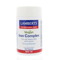 Lamberts IJzer complex vegan (120 tabletten)