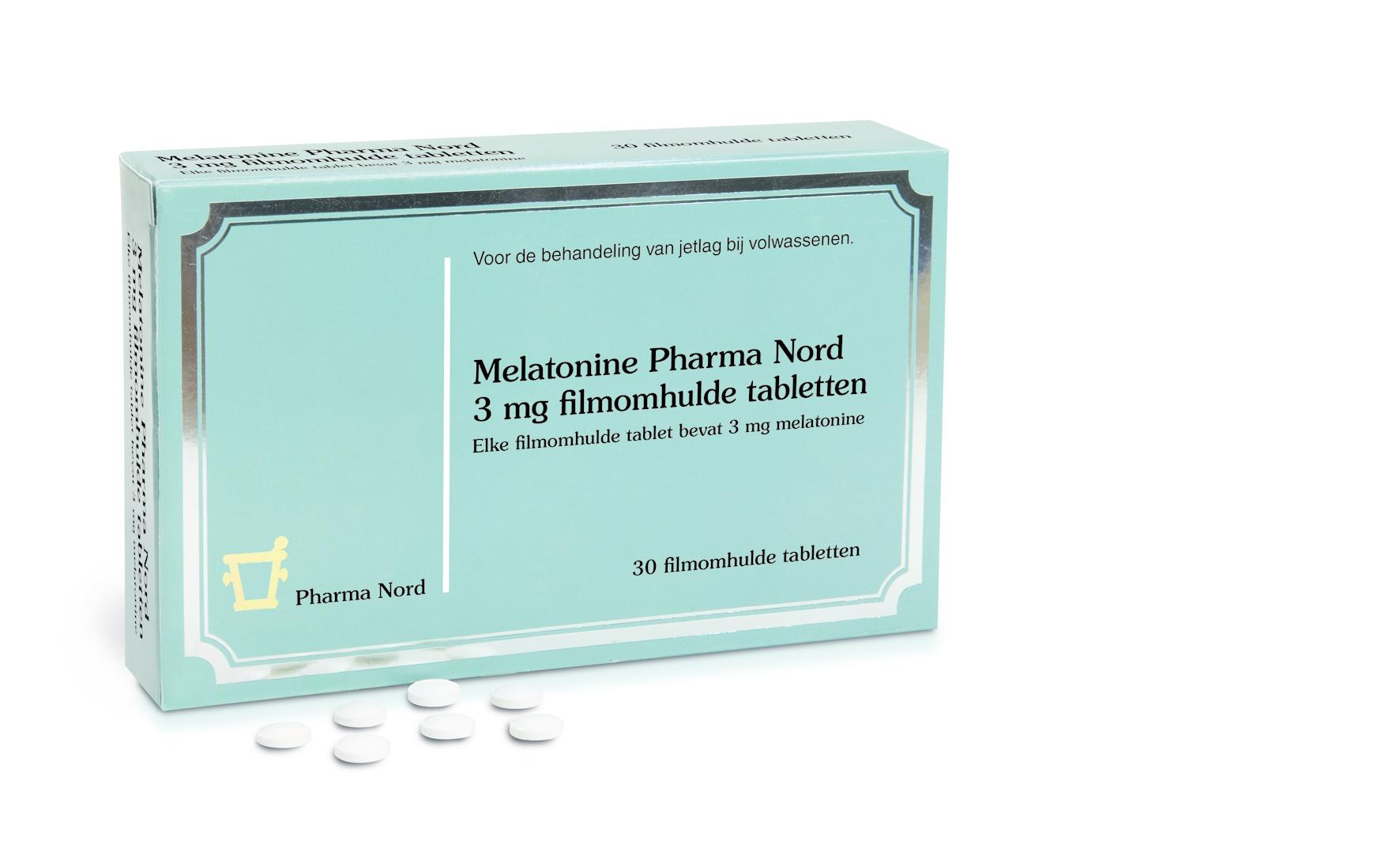 Pharma Nord Pharma Nord Melatonine 3 mg (30 tab)