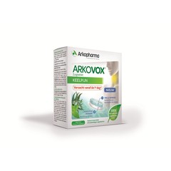 Arkovox keelpijn zuigtabletten met honing & citroen