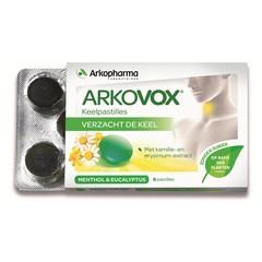 Arkovox keelpijn met menthol en eucalyptus