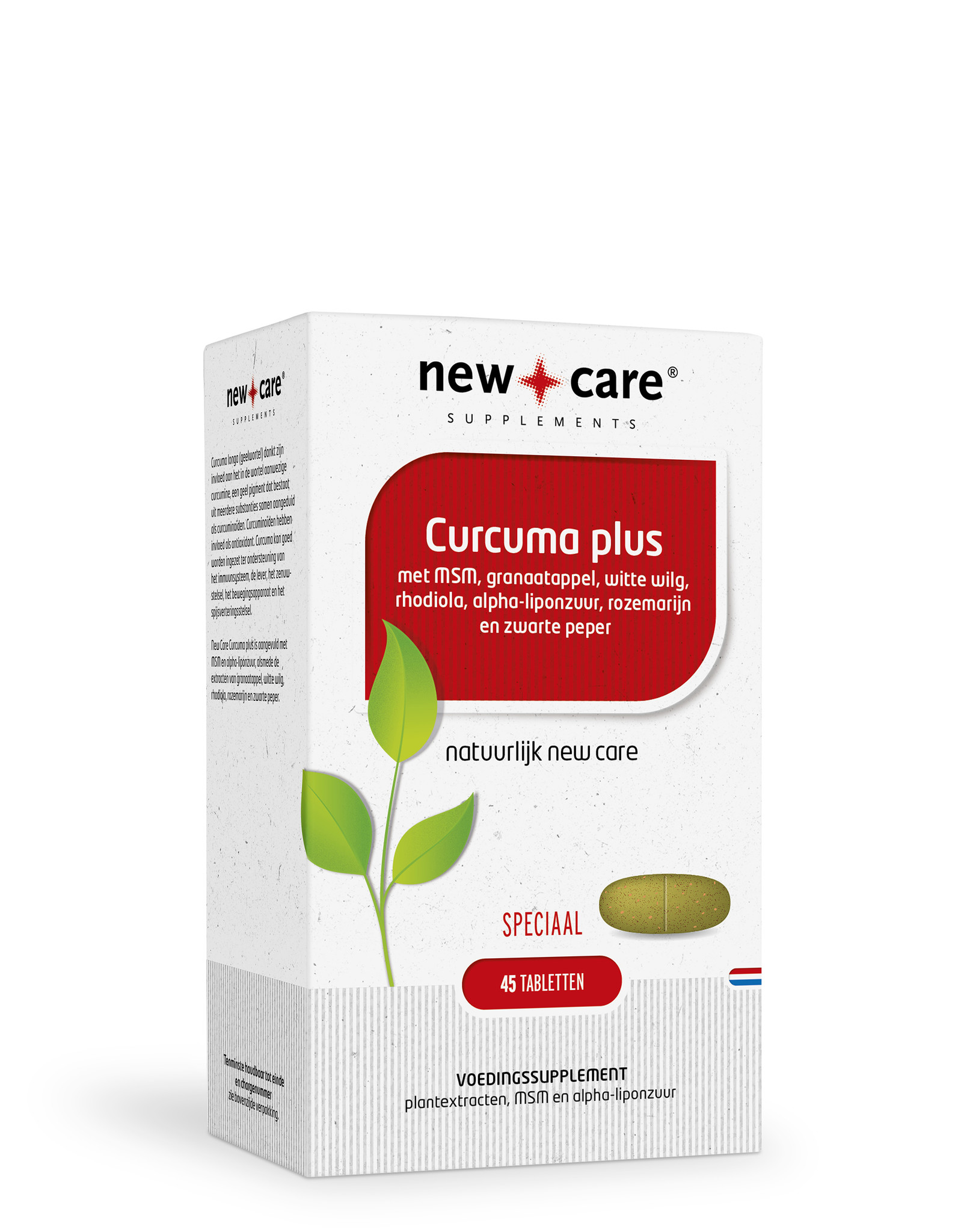 Curcuma plus (45 tabletten)