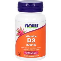 Vitamine D3 2000IE (120 softgels)