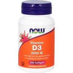 Vitamine D3 2000IE (240 softgels)