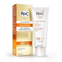 ROC Soleil protect anti wrinkle smoothing fluid SPF50+ (50 ml)