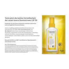 Lavera Sachet zonnebrand SPF30 (3 ml)