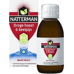 Natterman Droge hoest & keelpijn (150 ml)