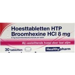 Healthypharm Broomhexine hoest 8 mg (30 tabletten)