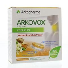 Arkovox Honing Citroen Keelpastilles (20 stuks)