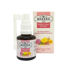 Hoestdrankmakers Honing & althea keelspray (30 ml)