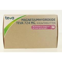 Teva Magnesiumhydroxide 724 mg (100 tabletten)