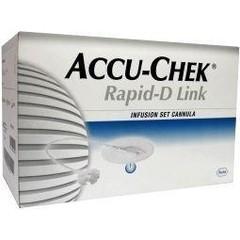 Accu Chek Rapid D naald 10 mm (25 stuks)