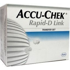 Accu Chek Rapid D slang 20 cm (10 stuks)