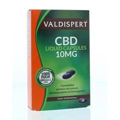 Valdispert CBD 10 mg liquid caps (30 stuks)
