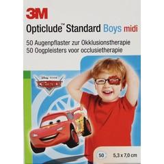 3M Opticlude oogpleister midi boys Disney (50 stuks)