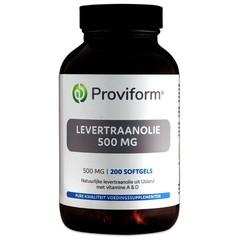 Proviform Levertraanolie 500 mg (200 softgels)