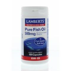 Lamberts Pure visolie 500 mg (120 capsules)