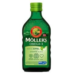 Mollers Omega-3 levertraan appel (250 ml)