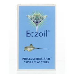 Eczoil Pijlstaartrogolie (60 capsules)