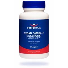 Orthovitaal Vegan omega 3 algenolie (60 capsules)