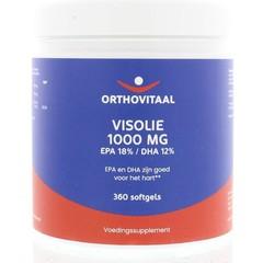 Orthovitaal Visolie 1000 mg EPA 18% DHA 12% (360 softgels)