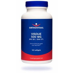 Orthovitaal Visolie 500 mg EPA 18% DHA 12% (120 softgels)