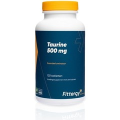 Fittergy Taurine 500 mg (120 tabletten)