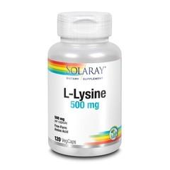 Solaray L-Lysine 500 mg (120 vcaps)
