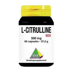 SNP L Citrulline 500 mg puur (60 capsules)