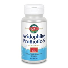 KAL Acidophilus-5 (60 vcaps)