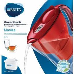 Brita Waterfilterkan Marella cool red (1 stuks)