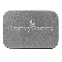 Happysoaps Body bar bewaar- en reis blik (1 stuks)