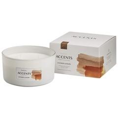 Bolsius Accents geurkaars multi lont lounge luxury (1 stuks)