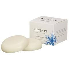 Bolsius Accents waxmelts pure winter (3 stuks)
