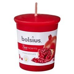 Bolsius Votive 53/45 rond true scents pomegranate (1 stuks)