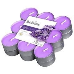 Bolsius Theelichten true scents lavendel (18 stuks)