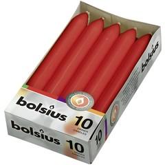Bolsius Dinerkaars 170/20 rood (10 stuks)