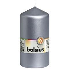 Bolsius Stompkaars 130/68 metal zilver (1 stuks)