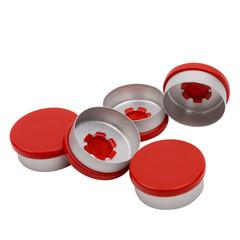 Blockland Aluminium felskap rood kombi/r rood 20 mm (1 stuks)