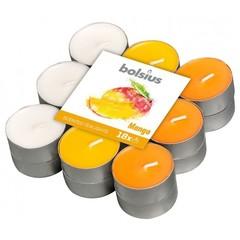 Bolsius Geurtheelicht multi colour brick 18 mango (18 stuks)