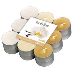 Bolsius Geurtheelicht multi colour brick 18 vanille (18 stuks)