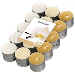 Bolsius Geurtheelicht multi colour brick 30 vanille (18 stuks)