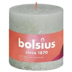 Bolsius Stompkaars shine 100/100 foggy green (1 stuks)