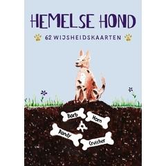 A3 Boeken Hemelse hond - 62 wijsheidskaarten (1 set)