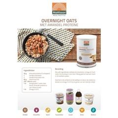 Mattisson Receptkaart A5 overnight oats (1 stuks)