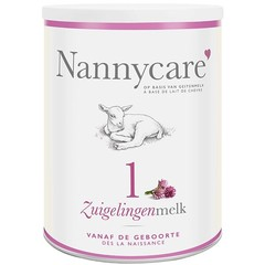 Nannycare Zuigelingenvoeding geitenmelk (900 gram)