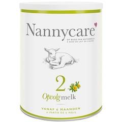 Nannycare Opvolgvoeding geitenmelk (900 gram)