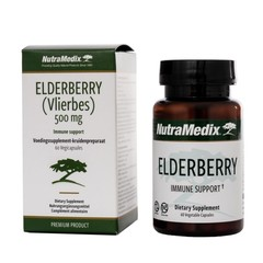 Nutramedix Vlierbes elderberry (60 capsules)