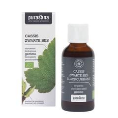 Purasana Puragem zwarte bes bio (50 ml)