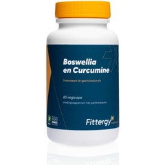 Fittergy Boswellia en curcumine (60 capsules)