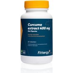 Fittergy Curcuma extract 400 mg (60 tabletten)